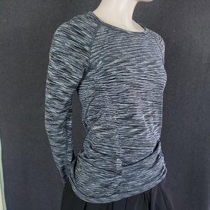Athleta (2) Long Sleeve Side Rouched Shirts S